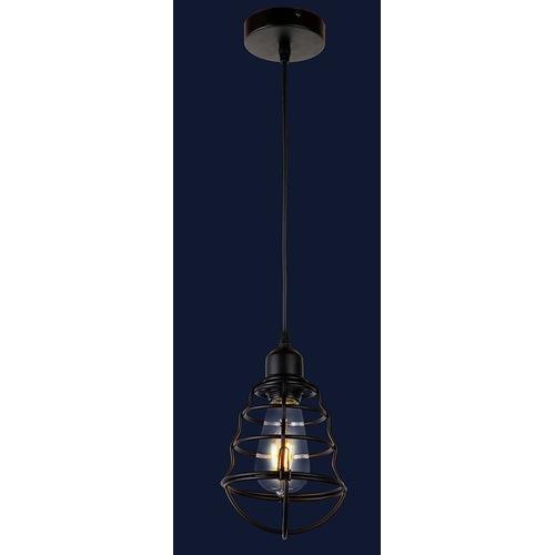 Лампа подвесная 748PC0002-1 черная Thexata