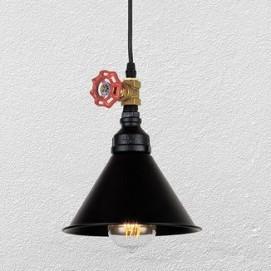 Лампа подвесная 748PC0006-1 черная Thexata