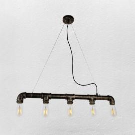 Люстра 748PC0008-5 черная Thexata