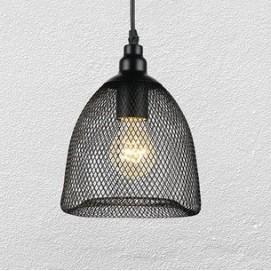 Лампа подвесная 75041062-1 черная Thexata