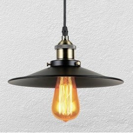 Лампа подвесная 75071033-1 черная Thexata