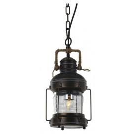 Лампа подвесная LW-34 коричневая Signal