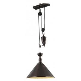 Лампа подвесная LW-40 коричневая Signal