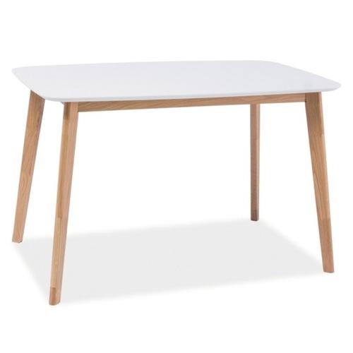 Стол обеденный Mosso I 120*75 см белый Signal