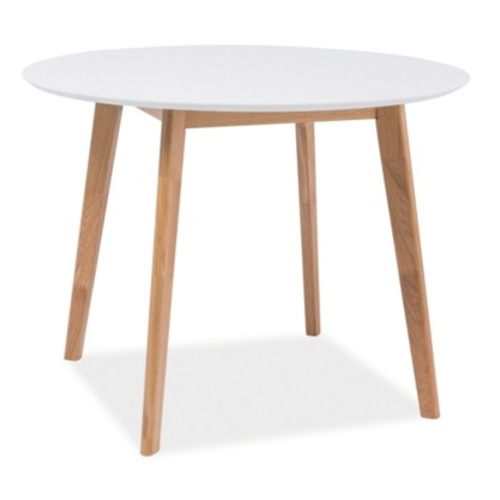 Стол обеденный Mosso II 80 см белый Signal