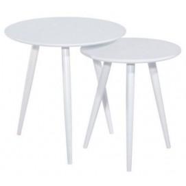 Набор столиков 2шт Cleo белый Signal