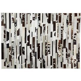 Ковер A957P35 - KOLA Carpet 160x230см Laforma черно-белый