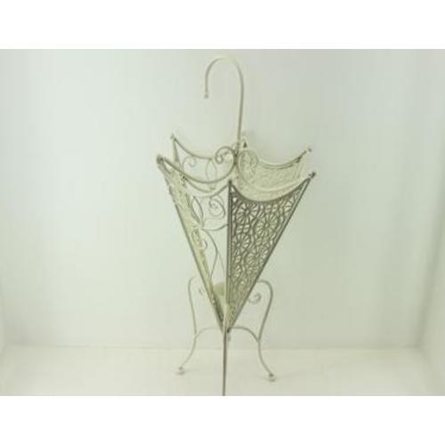 Подставка под зонты белая LS15B7038