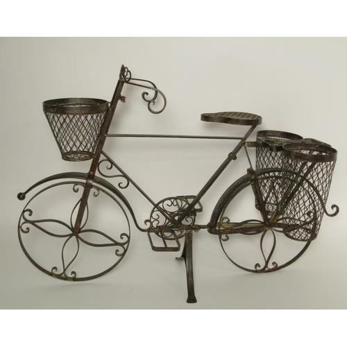 Подставка под цветы Велосипед 350640-000-708