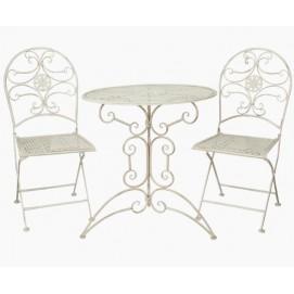 Комплект стол и 2 стула 5Y0179 белый