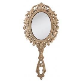 Зеркало с ручкой 13*28 см 62s009
