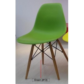 Стул Paris wood Primel Green зеленый ноги дерево
