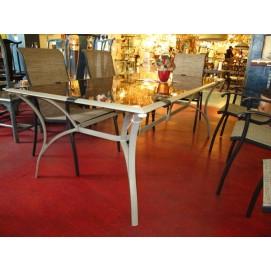 Комплект Навигатор Цин Лун (стол и 6 стульев) белый