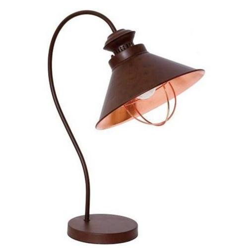 Настольная лампа Nowodvorski 5060 LOFT коричневая