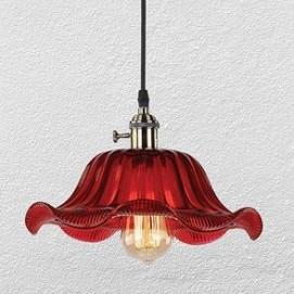 Лампа подвесная 750M23399-1 красная NEW Thexata
