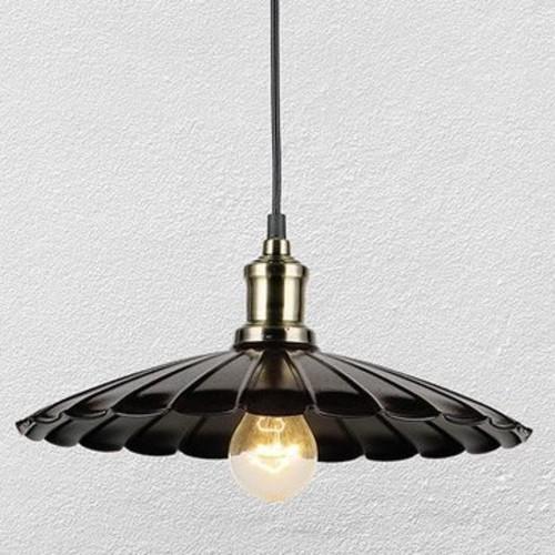 Лампа подвесная 75040155-1 черная NEW Thexata