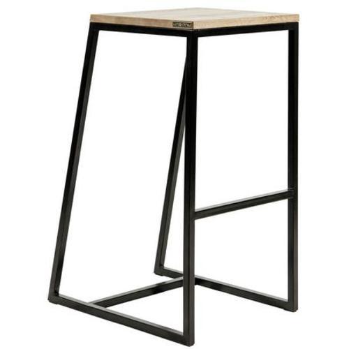 Барный стул horizon черный Cube 44