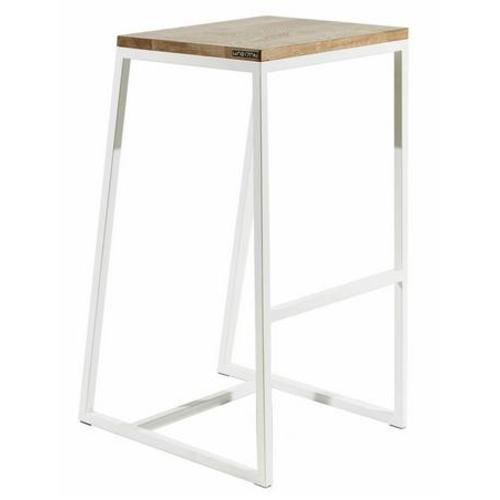 Барный стул horizon белый Cube 44