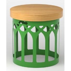 Стол журнальный  Martini high Dolid зеленый