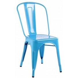 Стул Tolix MC-001A голубой Primel есть 2шт