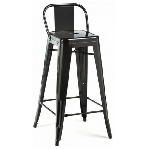 Кресло барное Tolix MC-012P черное Primel