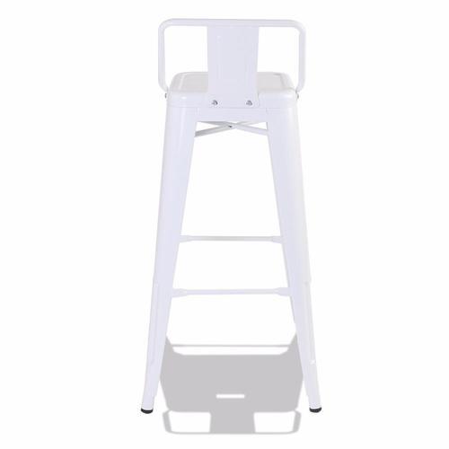 Кресло барное Tolix MC-012P белое Primel