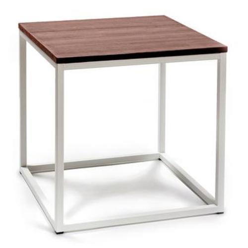 Стол журнальный Куб 400 белый Cube 44