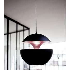 Лампа подвесная К 9017-3 черная+золото Loft