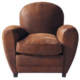 Кресло 1R9ZON1 коричневое 50180567 theXATA