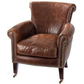 Кресло Cambridge коричневое 104984 Maisons