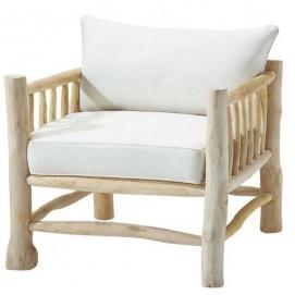 Кресло Rivage натуральное 110205 Maisons
