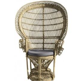 Кресло из ротанга Emmanuelle натуральное 111078 Maisons