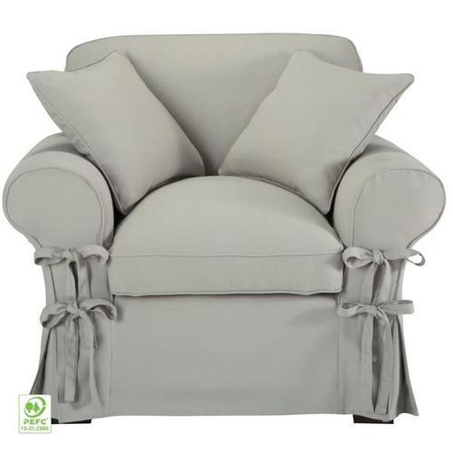 Кресло 2UTT5R6L9Y светло-серое 125010 theXATA