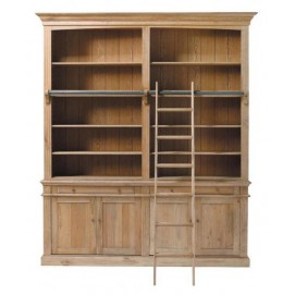 Библиотека ARISTOTE коричневая 200 см 50140284 Maisons