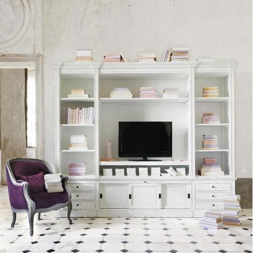 Стенка PASSY 264 см белый 122389 Maisons
