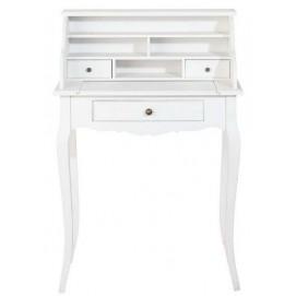 Стол письменный с надстройкой Séraphine белый 68 см 115732 Maisons