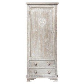 Шкаф 1-дверный Camille 75 см 110214 Maisons серая