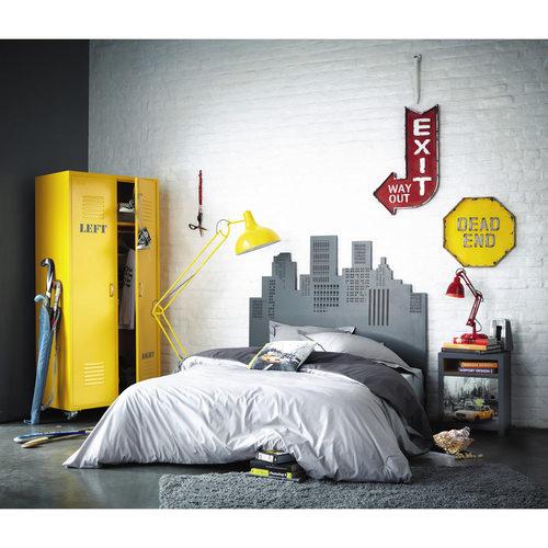 Шкаф 2-дверный Loft желтый 85 см 135308 Maisons
