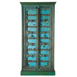 Шкаф 2-дверный Madras голубой 90 см 116289 Maisons