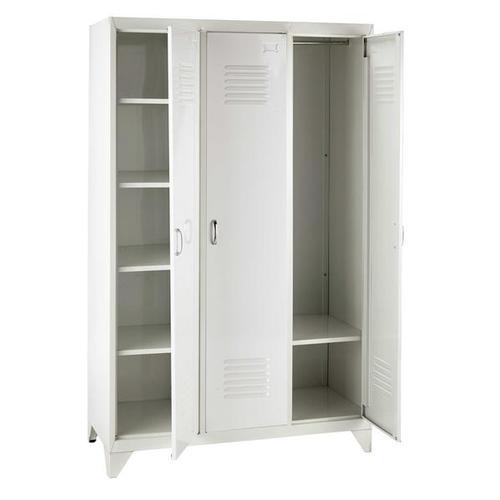 Шкаф 3-дверный Loft белый 115 см 155976 Maisons