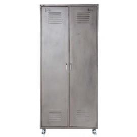 Шкаф 2-дверный Loft серый 85 см 103798 Maisons