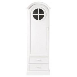 Шкаф 1-дверный Marguerite белый 62 см 122208 Maisons