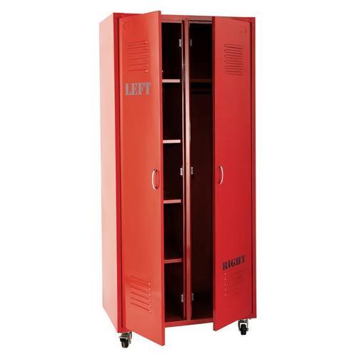 Шкаф 2-дверный Loft красный 85 см 135154 Maisons