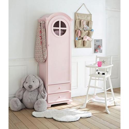 Шкаф 1-дверный Pastel розовый 62 см 135247 Maisons