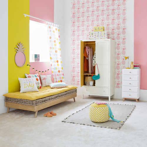 Кровать 90х190 см Sixties 160311 Maisons натуральная