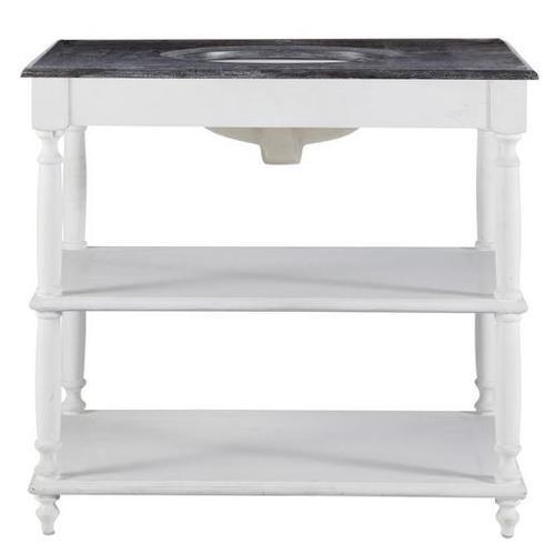Стол с мойкой Ostende белый 90 см 139602 Maisons