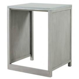 Стол для посудомоечной машины Zinc 66 см 157303 Maisons серый