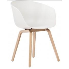 Кресло AAC22 пластик белый ICOO