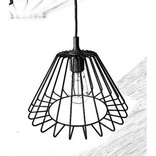 Лампа подвесная loft 06 черный Cube 44