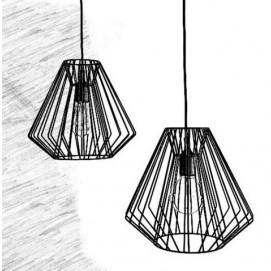 Лампа подвесная loft 04\05 черный Cube 44